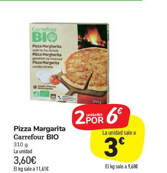 Carrefour Market Pizza Margarita