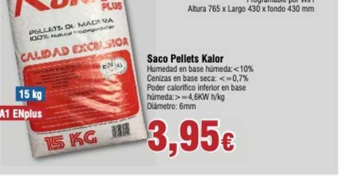 Froiz Saco Pellets Kalor