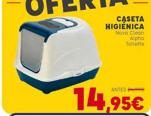 Kiwoko Caseta Higiénica Nova Clean Alpha Toilette