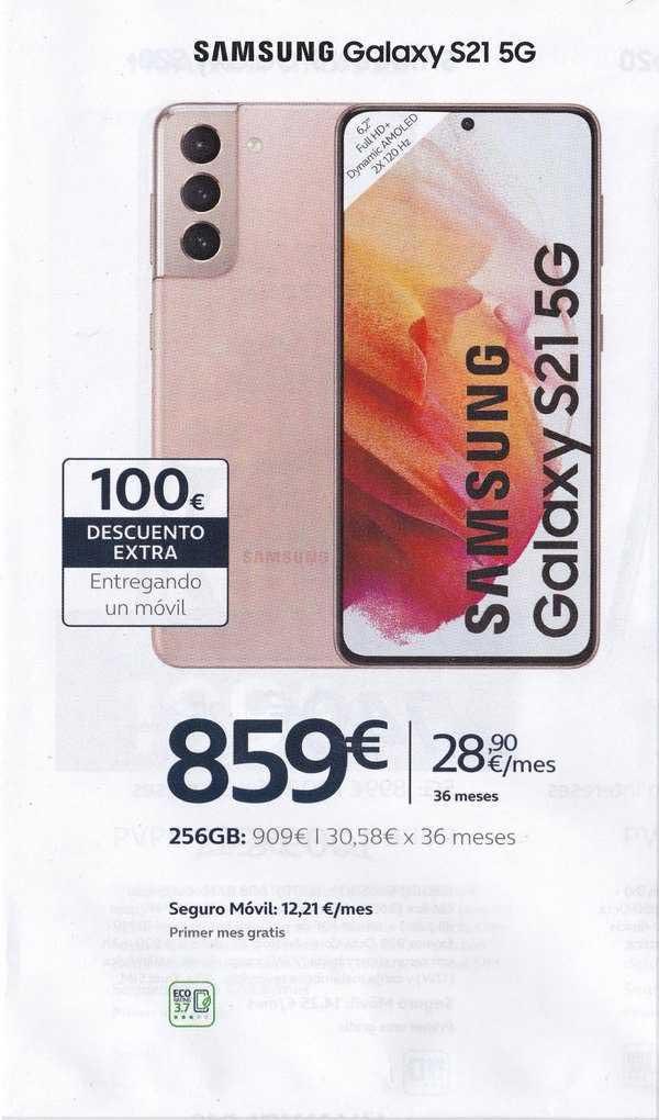 Movistar Samsung Galaxy S21 5g