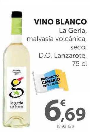 SPAR Vino Blanco La Geria