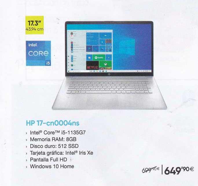 Fnac Hp 17-cn0004ns