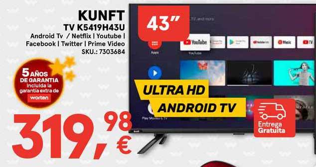 Worten Kunft Tv K5419h43u