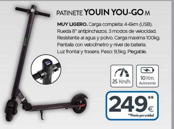 Tien 21 Patinete Youin You-go M