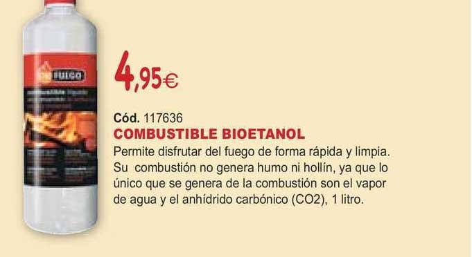 Ferrcash Combustible Bioetanol