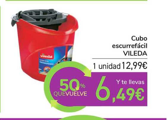 Carrefour Cubo Escurrefácil Vileda