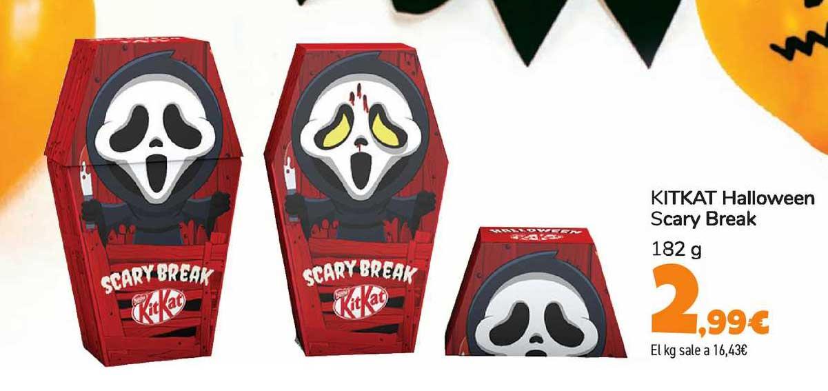 Carrefour Kitkat Halloween Scary Break