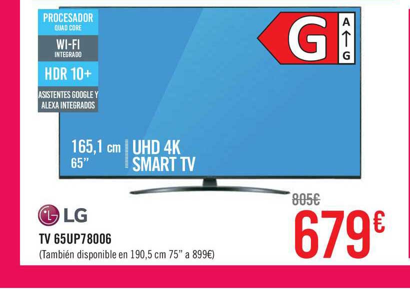 Carrefour Lg Tv 65up78006