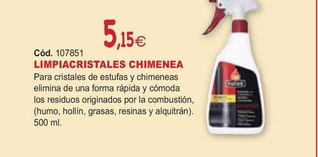 Ferrcash Limpiacristales Chimenea