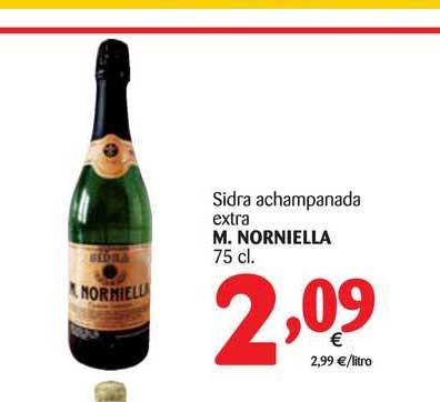 Alimerka Sidra Achampanada Extra M. Norniella 75 Cl
