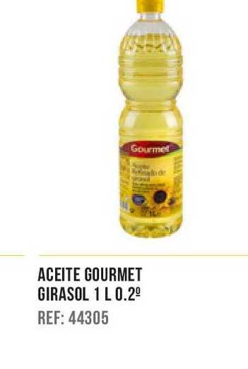 Gros Mercat Aceite Gourmet Girasol 1 L 0.2°