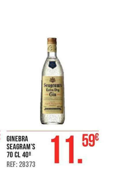 Gros Mercat Ginebra Seagram's 70 Cl 40°
