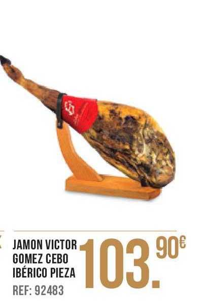Gros Mercat Jamon Victor Gomez Cebo Ibérico Pieza