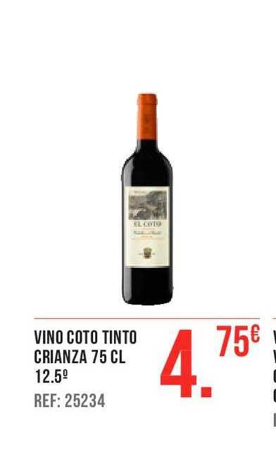 Gros Mercat Vino Coto Tinto Crianza 75 Cl