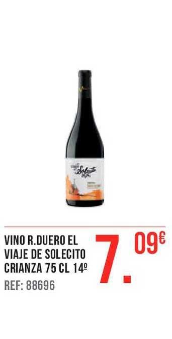Gros Mercat Vino R.duero El Viaje De Solecito Crianza 75 Cl 14°