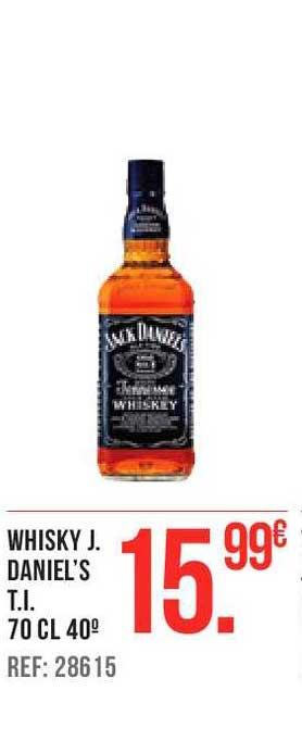 Gros Mercat Whisky J. Daniel's T.I 70 Cl 40°
