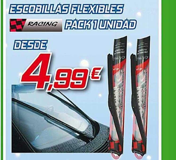 Aurgi Escobillas Flexibles Racing Pack 1 Unidad