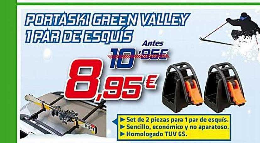 Aurgi Portaski Green Valley 1 Par Esquís