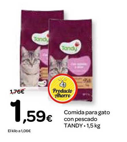 Dialprix Comida Para Gato Con Pescado Tandy