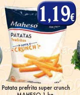 Congelados Copos Patata Prefrita Supr Crunch Maheso