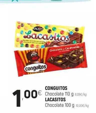 Coviran Conguitos Chocolate 110 G O Lacasitos Chocolate 100 G