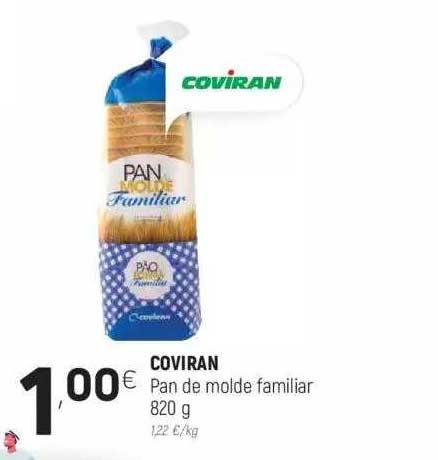 Coviran Coviran Pan De Molde Familiar 820 G