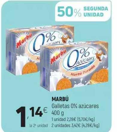 Coviran Marbú Galletas 0% Azúcares 400 G