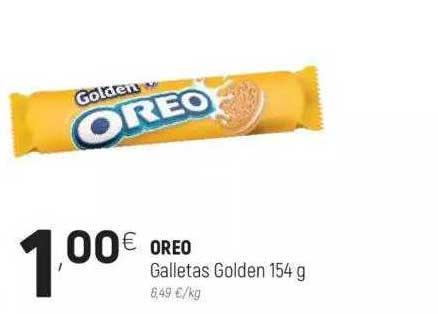 Coviran Oreo Galletas Golden 154 G