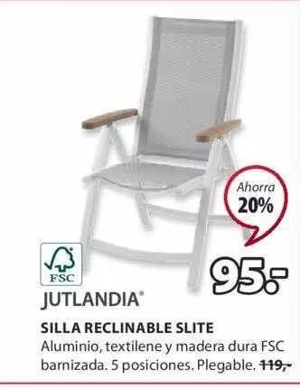JYSK Jutlandia Silla Reclinable Slite