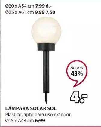 JYSK Lámpara Solar Sol