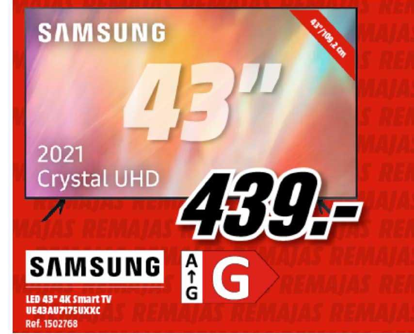 MediaMarkt Samsung Led 43