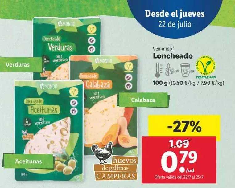 LIDL Vemondo Loncheado