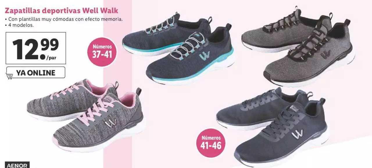 LIDL Zapatillas Deportivas Well Walk