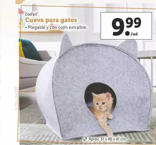 LIDL Zoofari Cueva Para Gatos