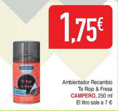 Masymas Ambientador Recambio Te Rojo & Fresa Campero