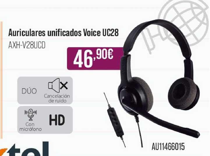 MR Micro Auriculares Unificados Voice Uc28