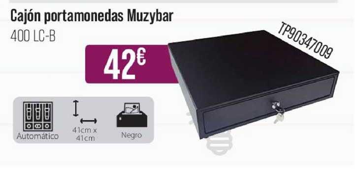 MR Micro Cajón Portamonedas Muzybar