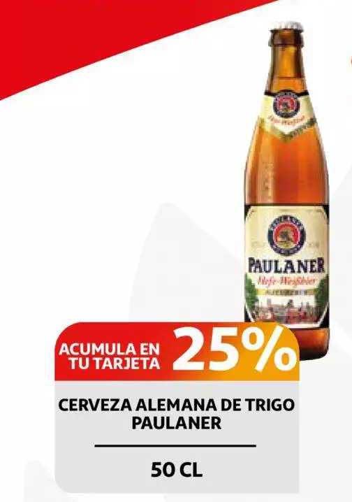 Alcampo Cerveza Alemana De Trigo Paulaner