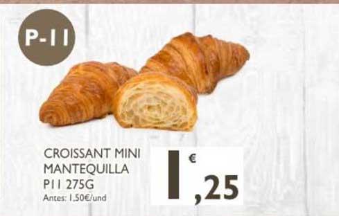 Cash Ecofamilia Croissant Mini Mantequilla Pi L