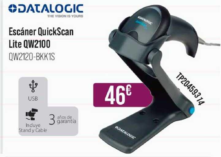 MR Micro Datalogic Escáner Quickscan Lite Qw2100