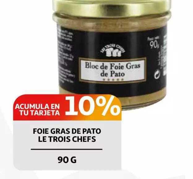 Alcampo Foie Gras De Pato Le Trois Chefs