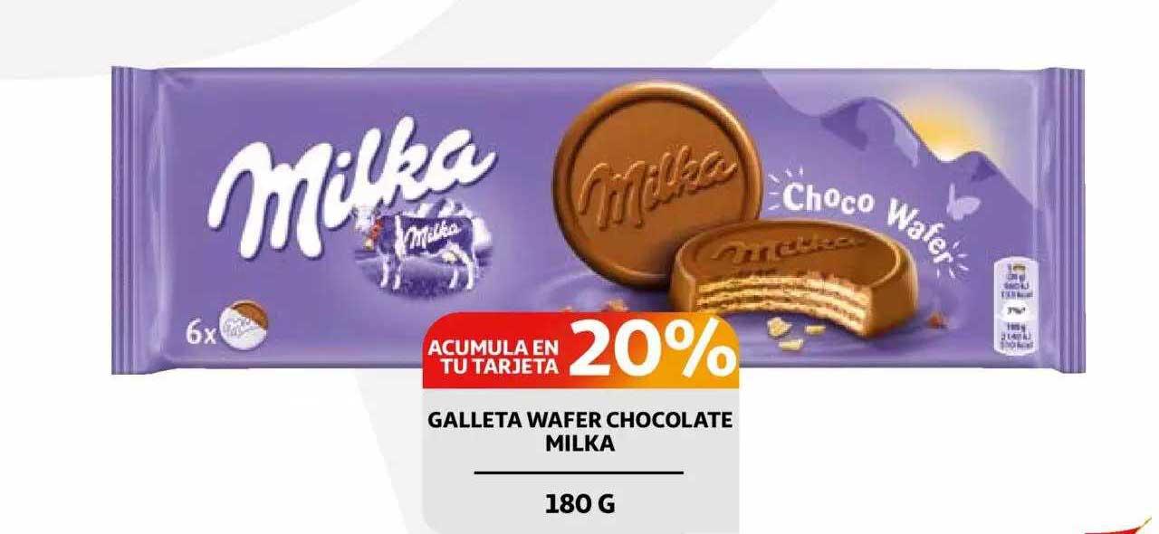 Alcampo Galleta Wafer Chocolate Milka