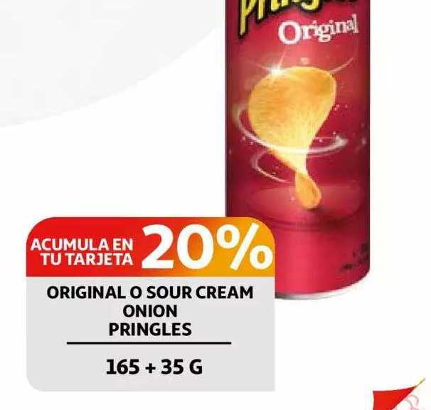 Alcampo Original O Sour Cream Onion Pringles
