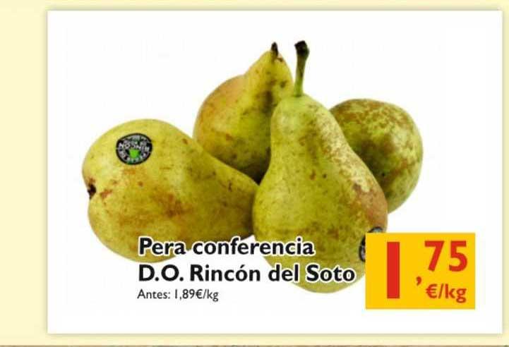 Cash Ecofamilia Pera Conferencia D.o. Rincón Del Soto