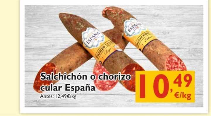 Cash Ecofamilia Salchíchon O Chorizo Cular España