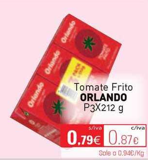 Cuevas Cash Tomate Frito Orlando