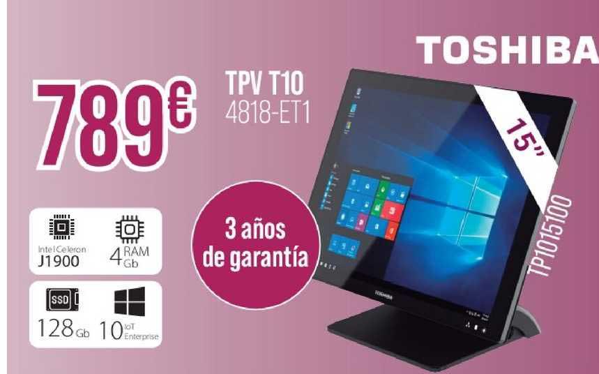 MR Micro Tpv T10 Toshiba