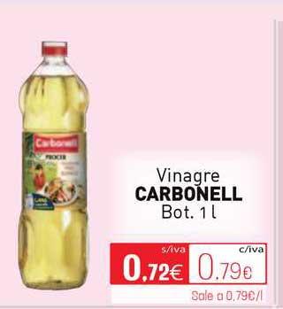 Cuevas Cash Vinagre Carbonell