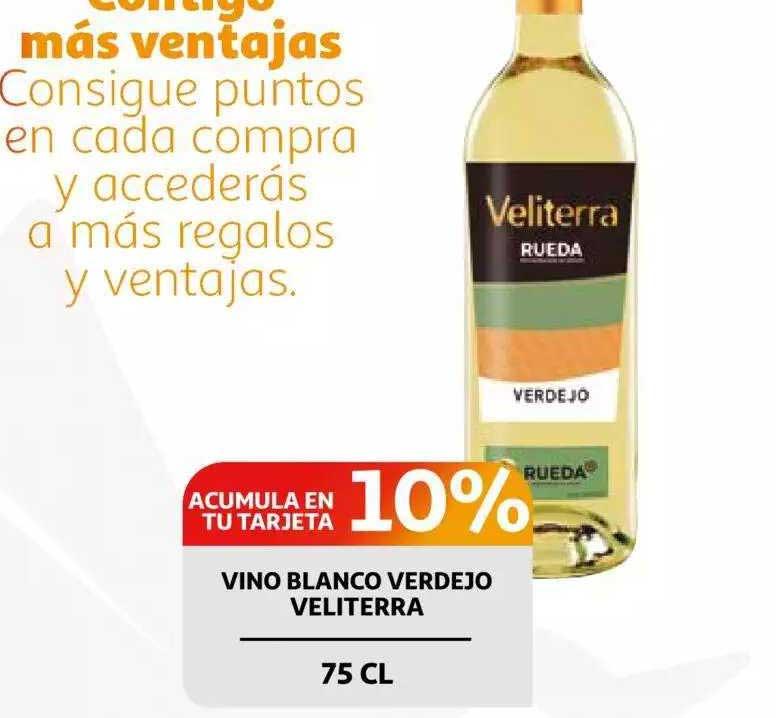 Alcampo Vino Blanco Verdejo Veliterra