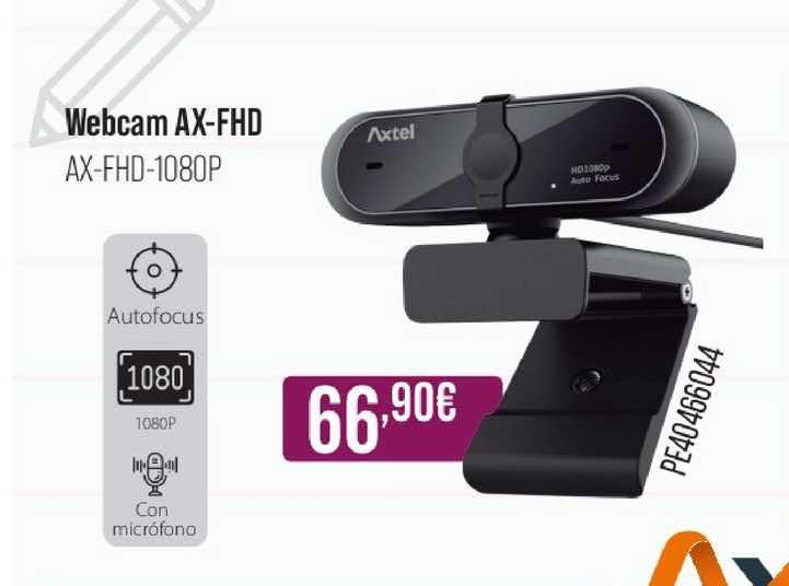 MR Micro Webcam Ax-fhd